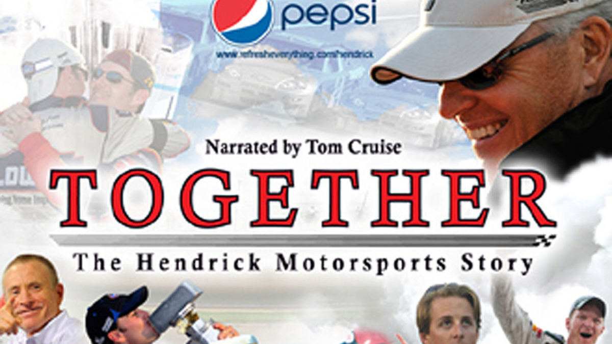 Tom Cruise to narrate 'TOGETHER: The Hendrick Motorsports Story'