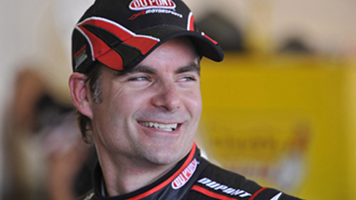 Win Jeff Gordon's Corvette