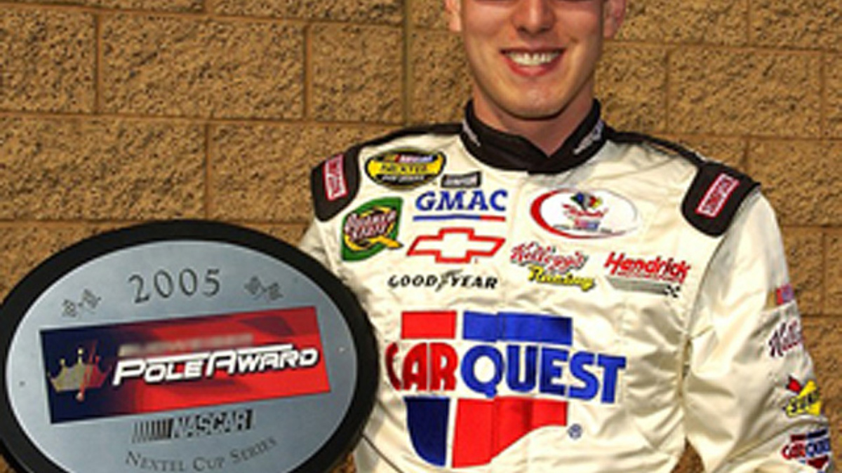 Youngest Ever: Busch Nabs California Cup Pole