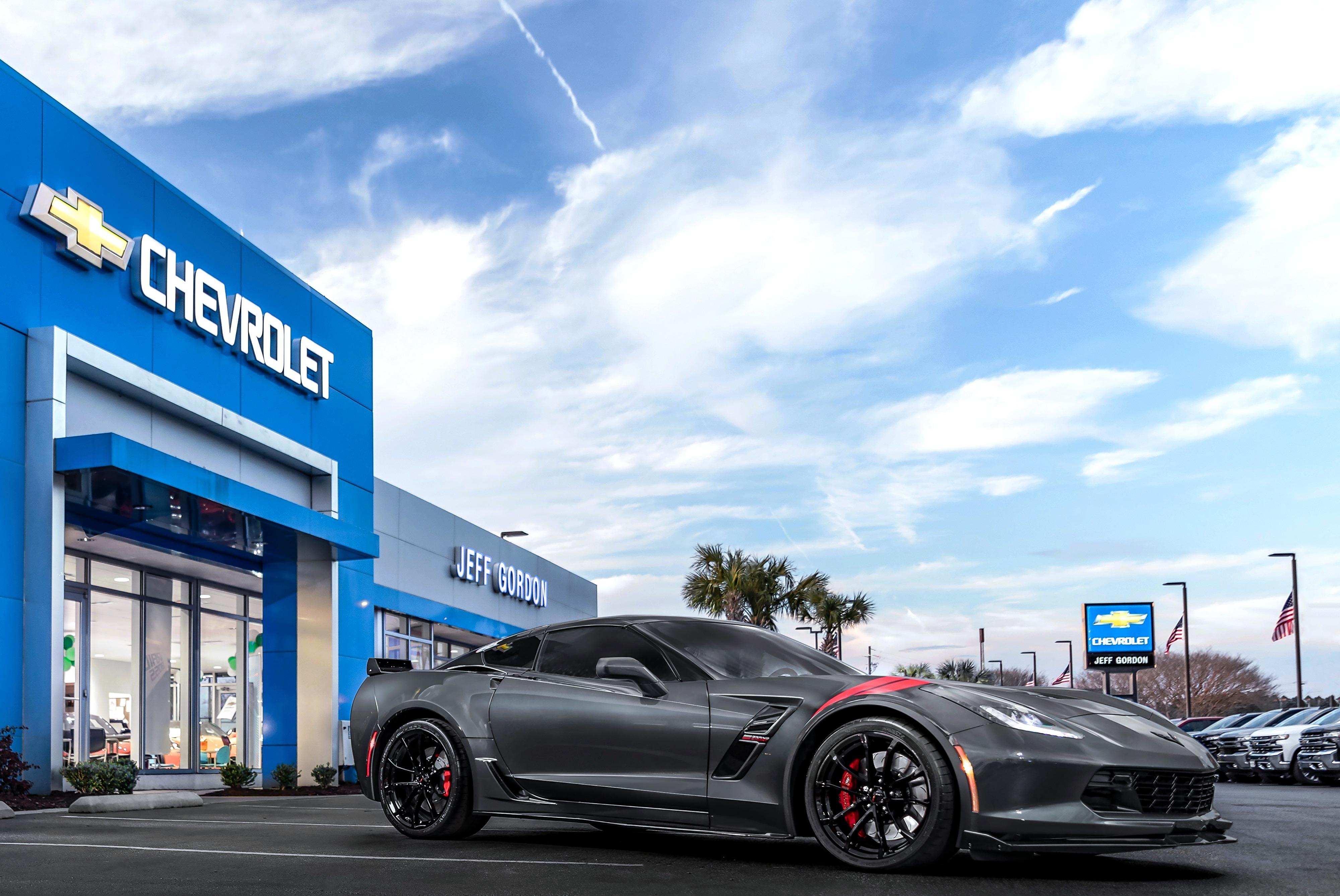 You could win Jeff Gordon's personal Corvette | Hendrick