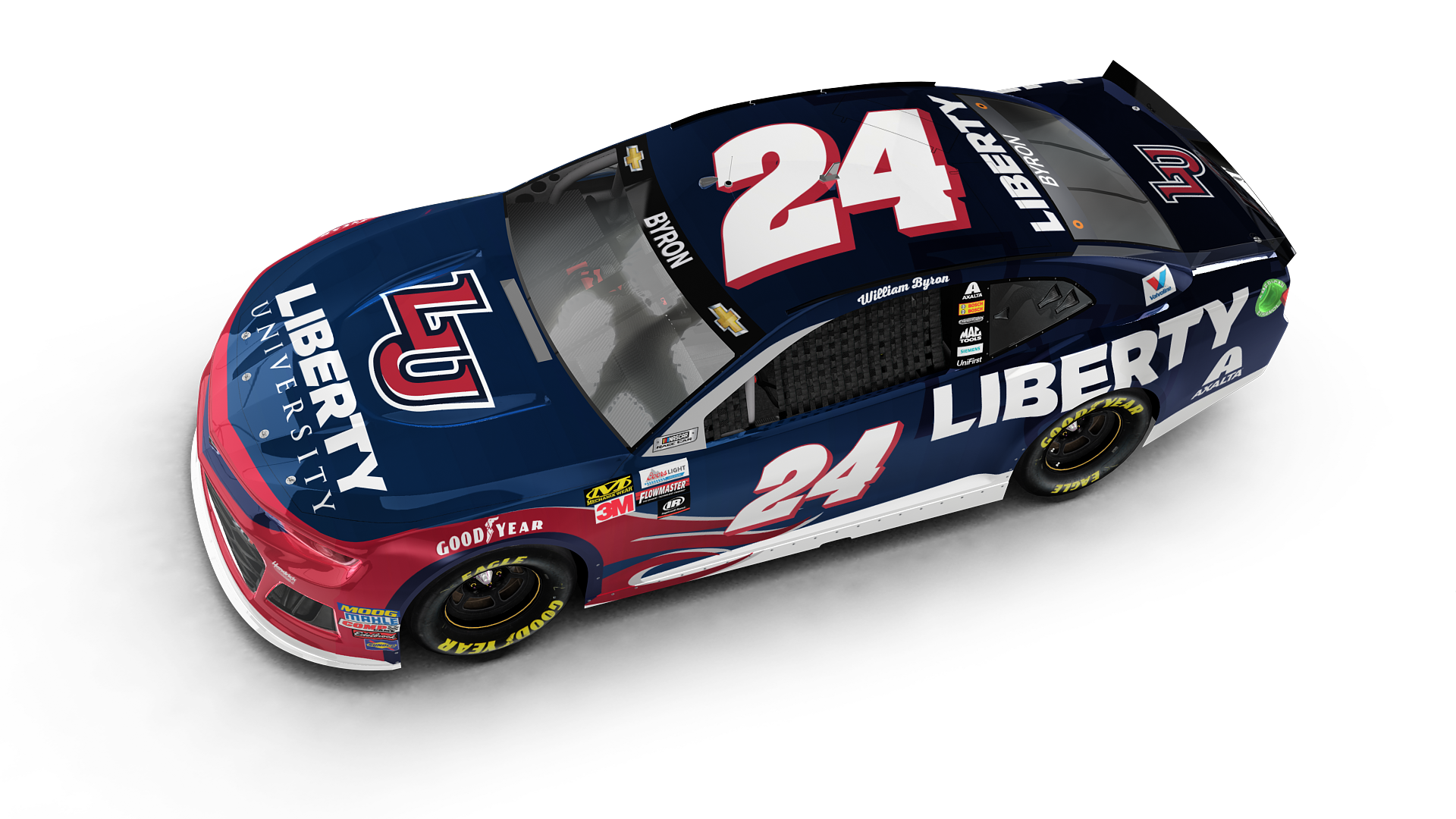 Byron's Liberty University scheme gets an update | Hendrick Motorsports