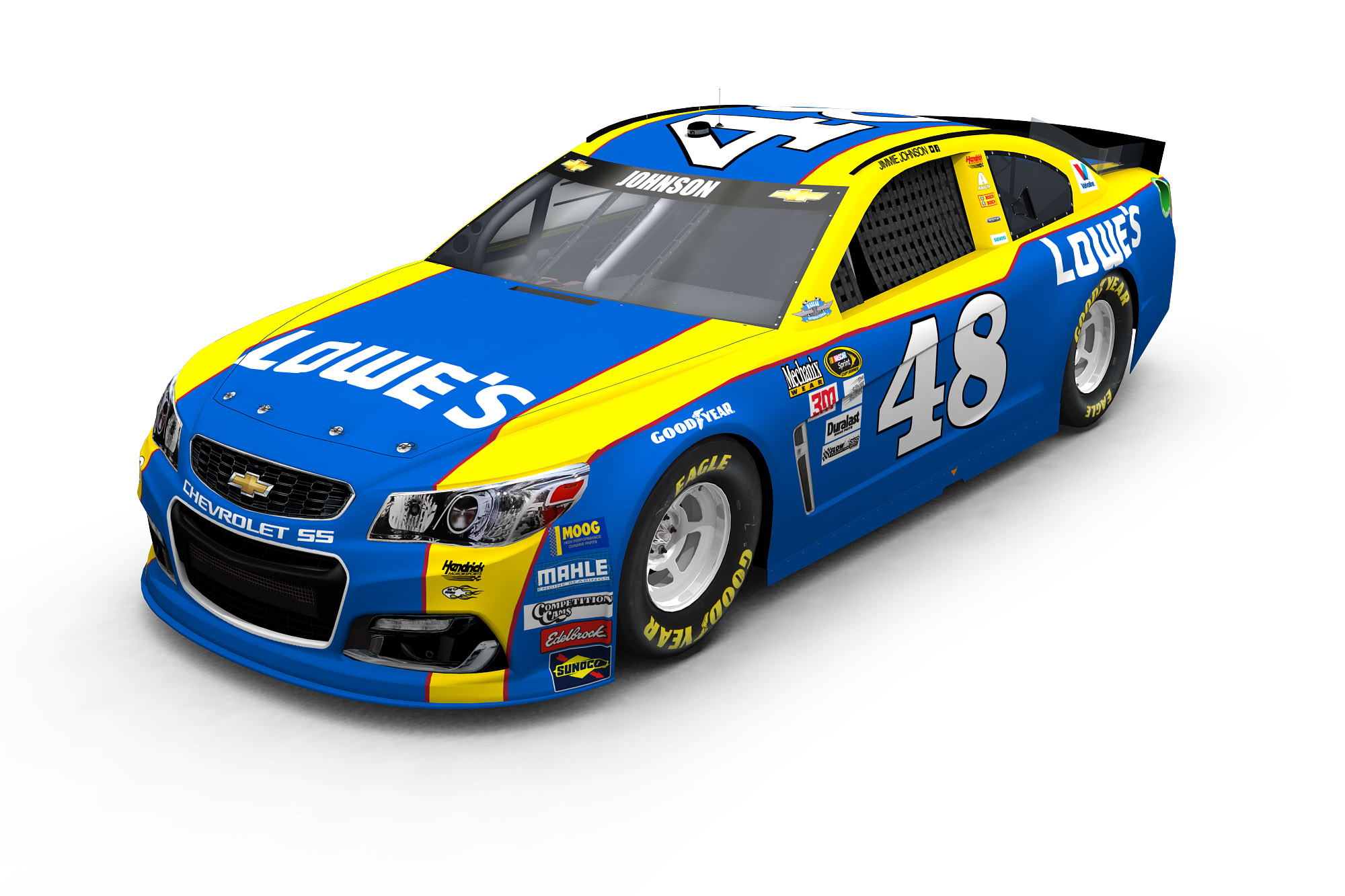 Knaus unveils No. 48 Lowe's throwback scheme for ...