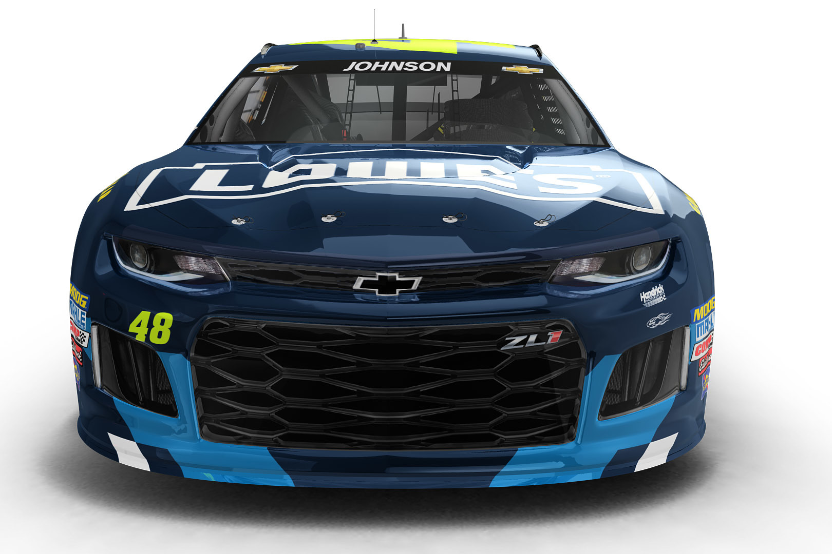 Jimmie Johnson Foundation Paint Scheme Unveiled For