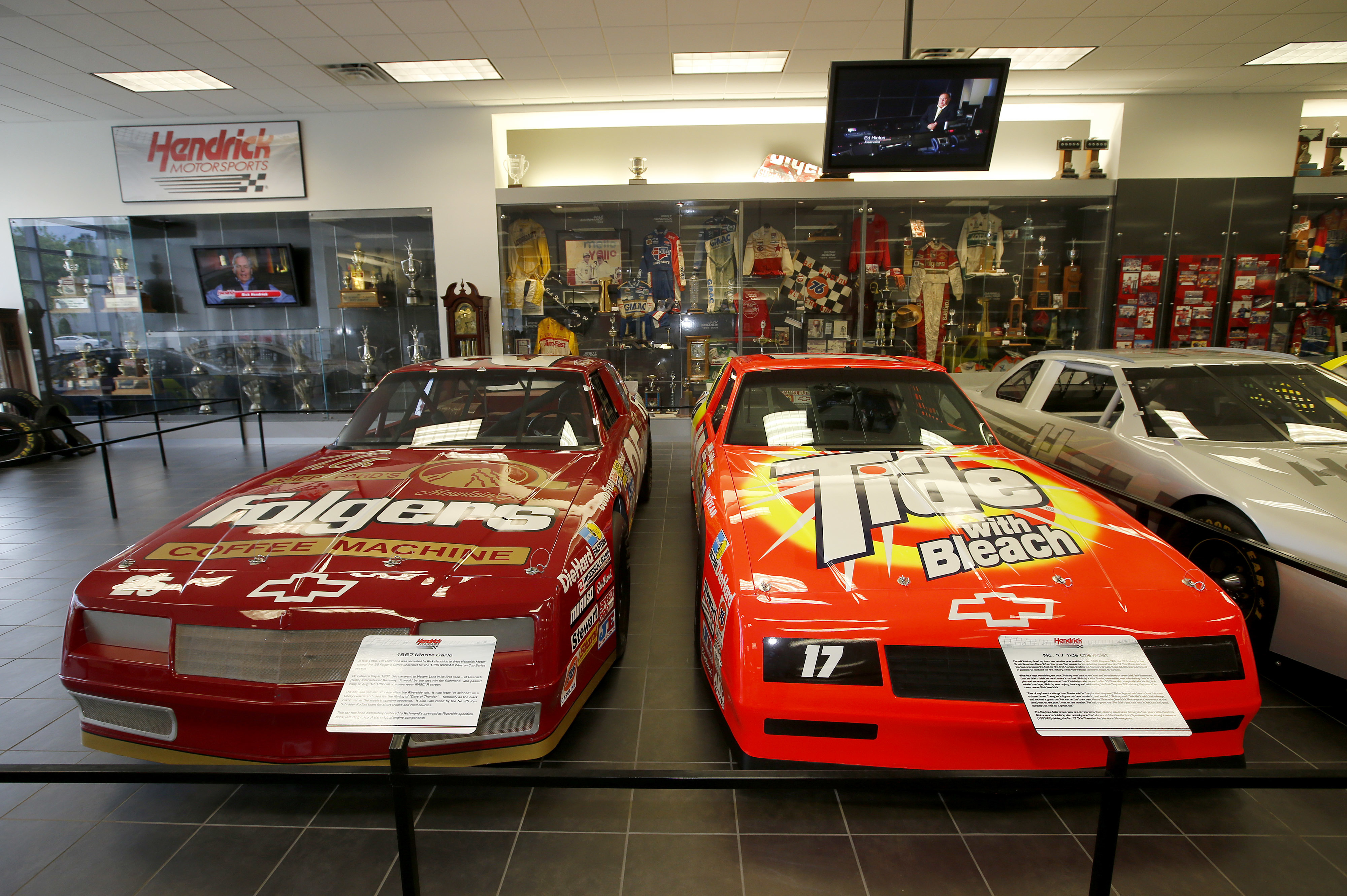 Team Charlotte Motorsports >> Fast Five: Fun finds in Hendrick Motorsports museum | Hendrick Motorsports