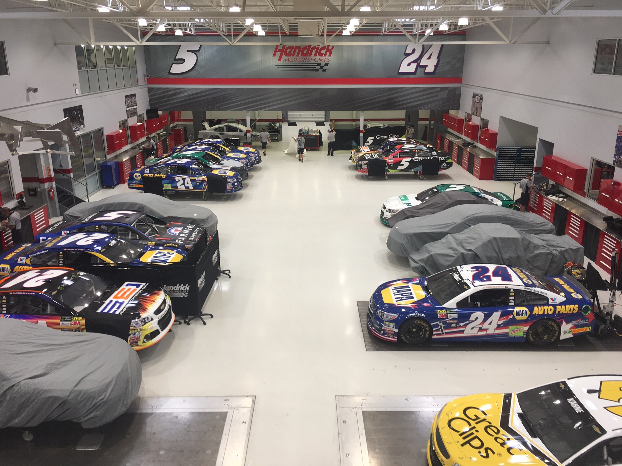 Fast Five How Hendrick Motorsports spends the off week