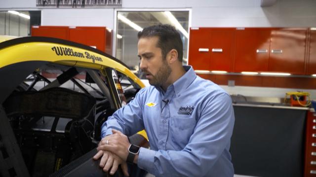 Meet Design Engineer Rob Metzger In This Week S Morningswith Hendrick Motorsports