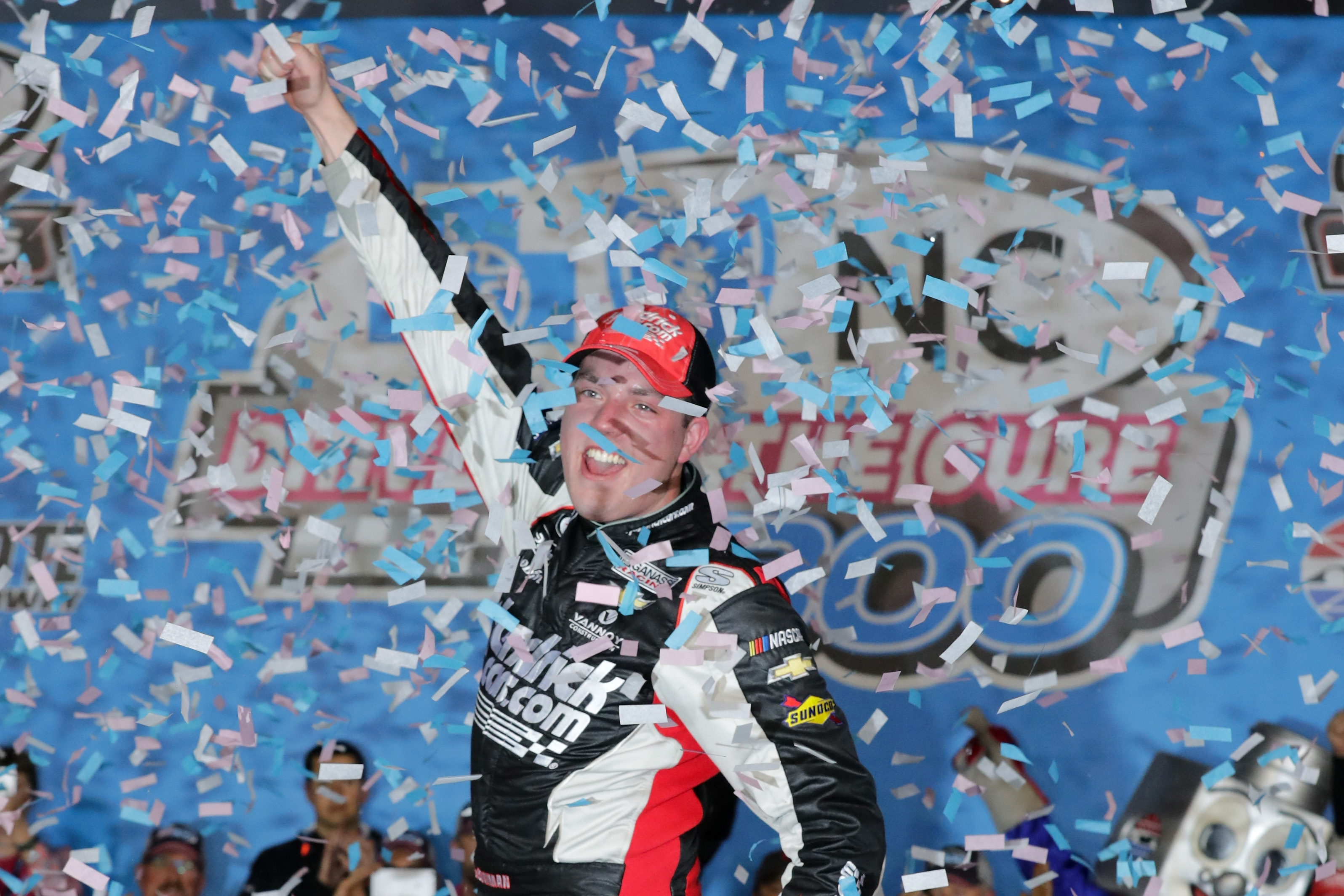 Saturday night at Charlotte, Bowman captures first career