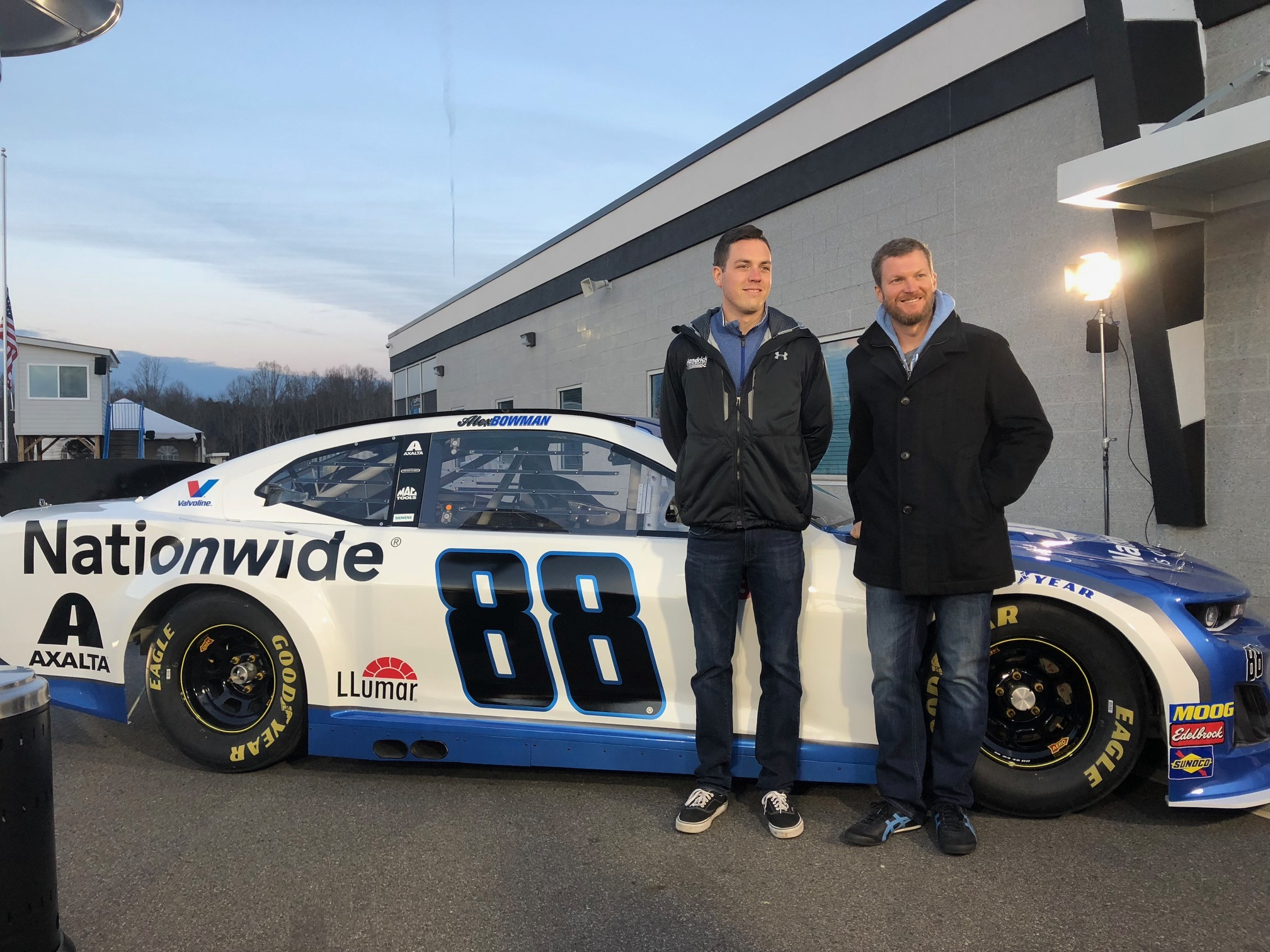 Bowman Earnhardt Unveil 2019 No 88 Nationwide Chevy