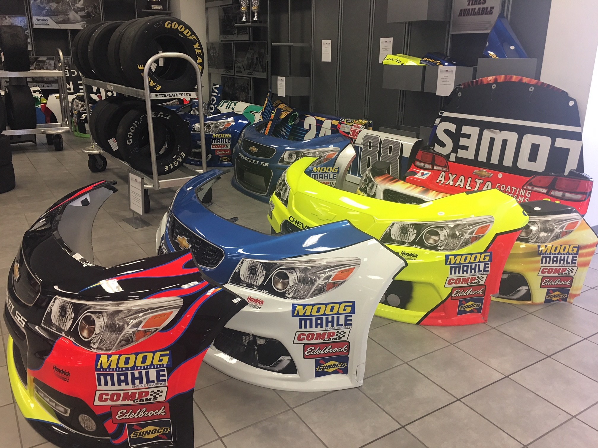 Fast Five: Things to see and do on the Hendrick Motorsports
