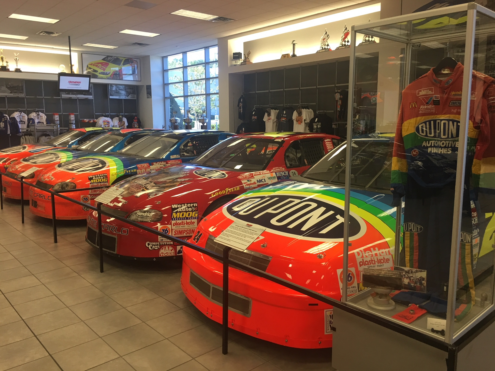 Fast five things to see and do on the hendrick for Charlotte motor speedway museum