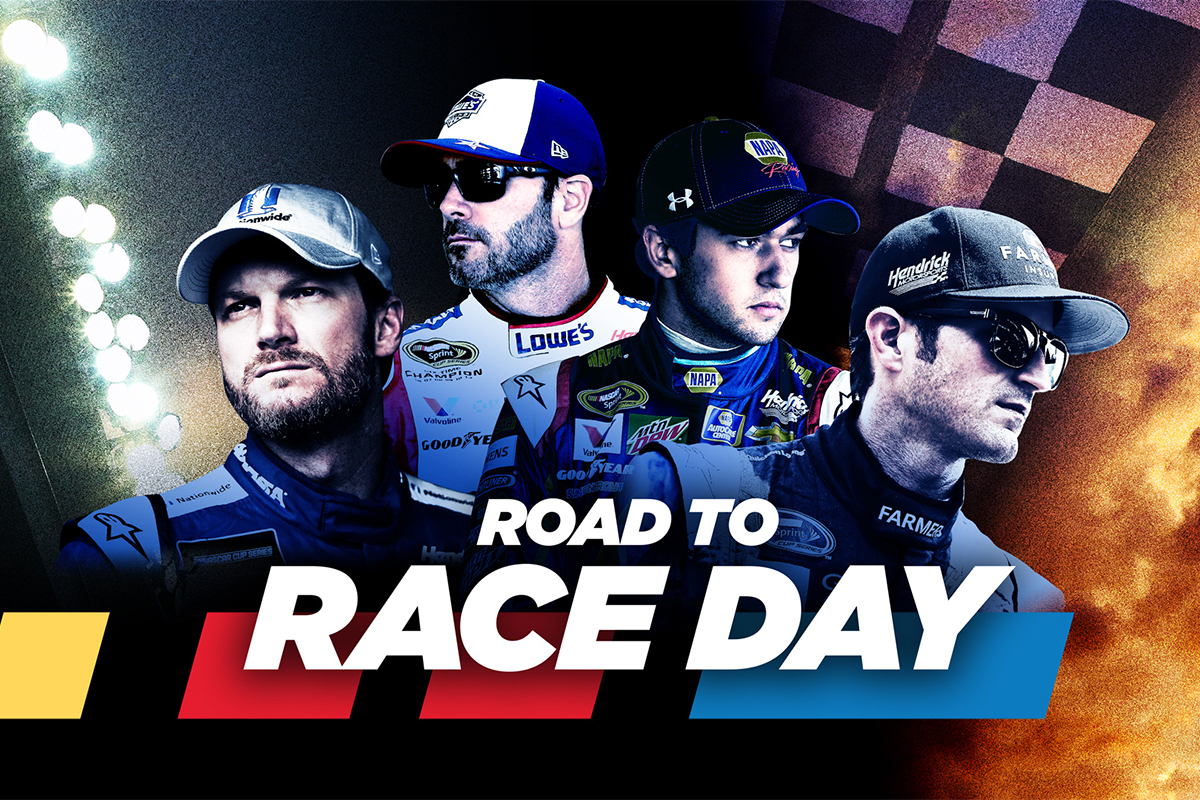 Hendrick Motorsports Docuseries Road To Race Day Available On Crackle Hendrick Motorsports