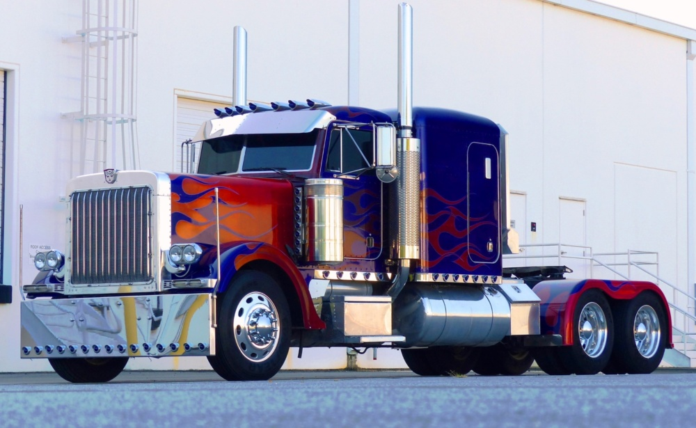 What kind of truck is optimus prime