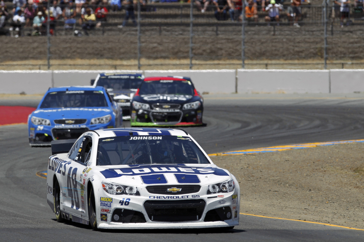 Victory Lane up for grabs at Sonoma | Hendrick Motorsports