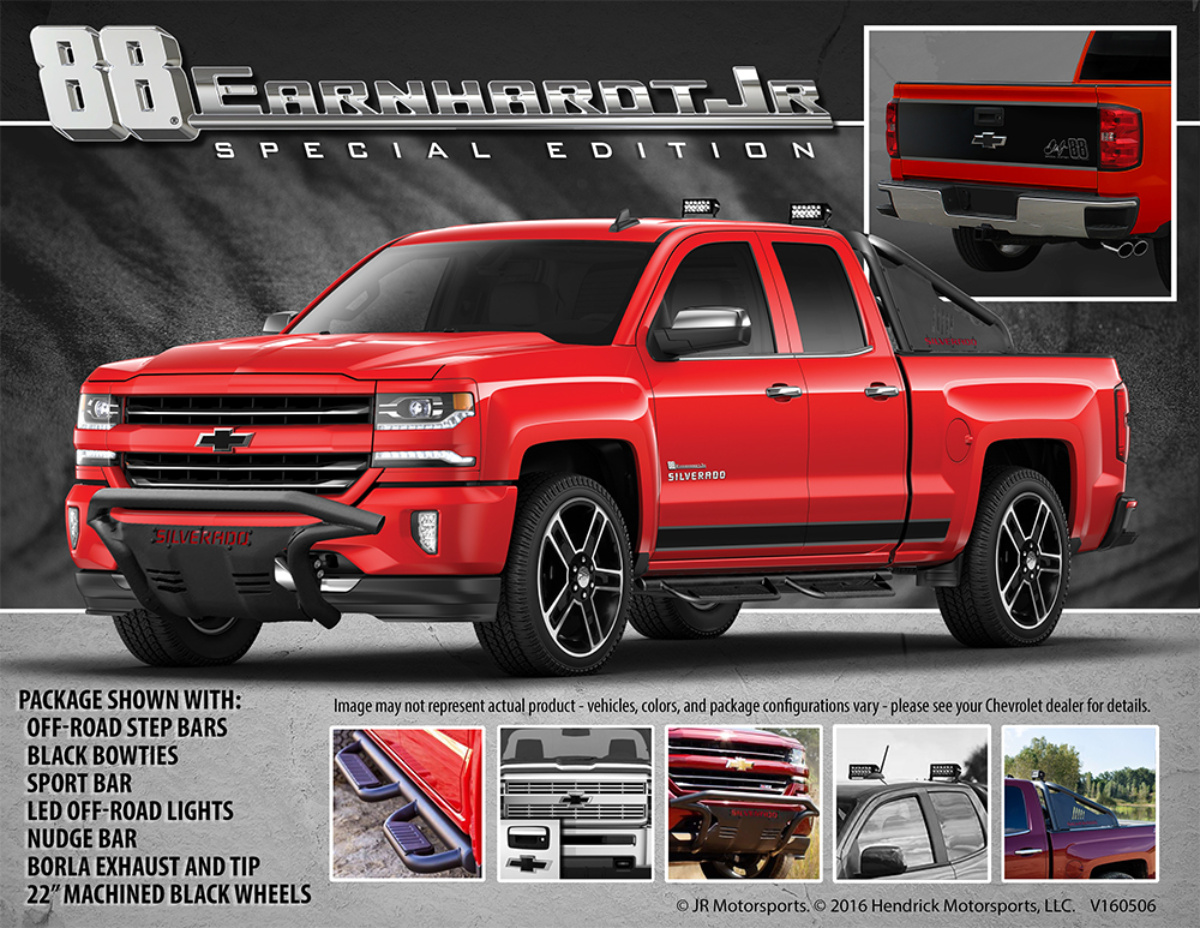Silverado Special Edition >> Introducing The Dale Jr No 88 Special Edition Chevy