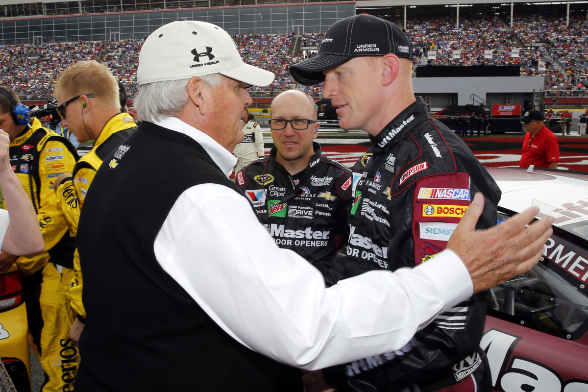 Hendrick Motors Of Charlotte >> A Day In The Life Rick Hendrick S Charlotte Weekend Hendrick