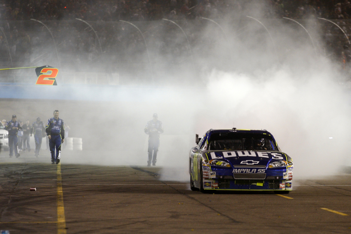 Chevy clinches NASCAR's Sprint Cup Manufacturers' Championship