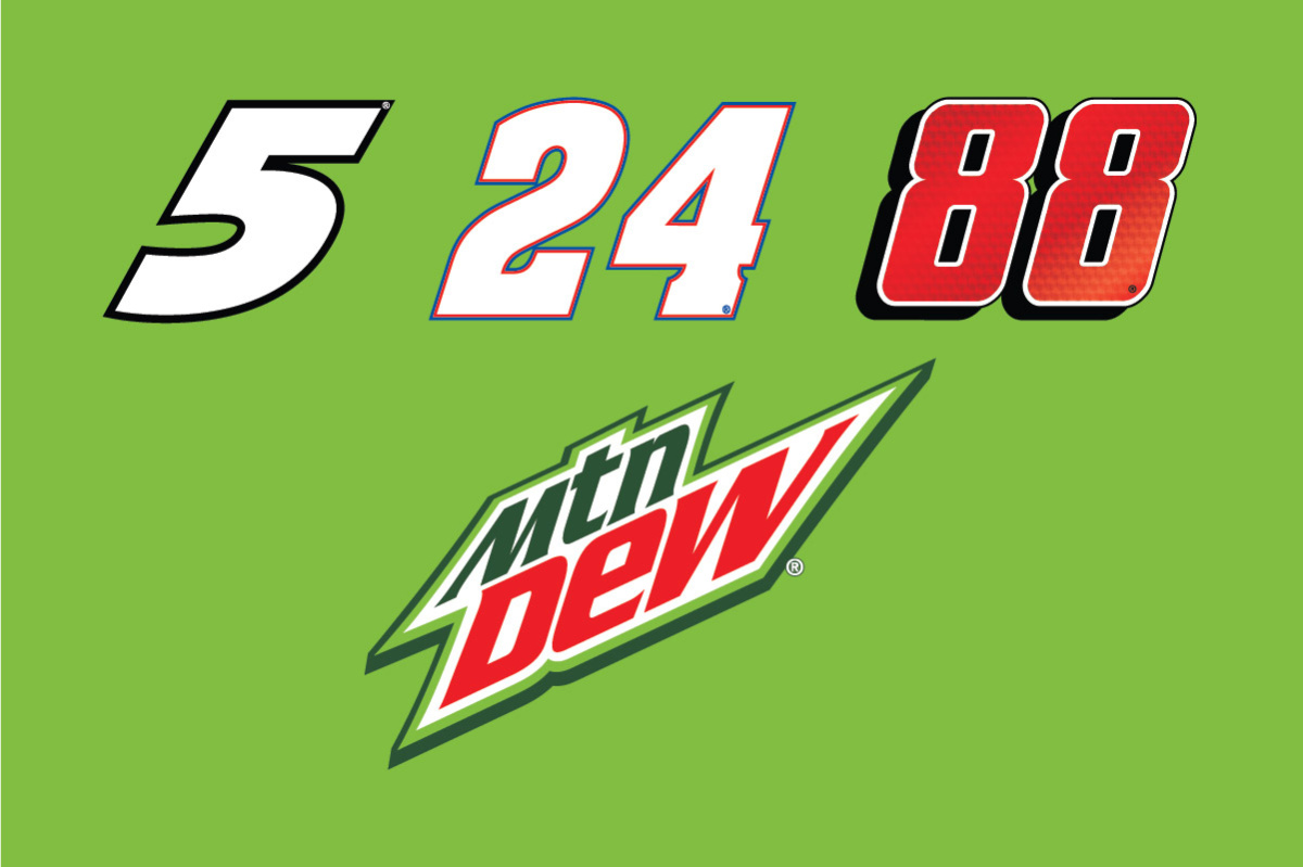 mountain dew extends hendrick motorsports relationship with three