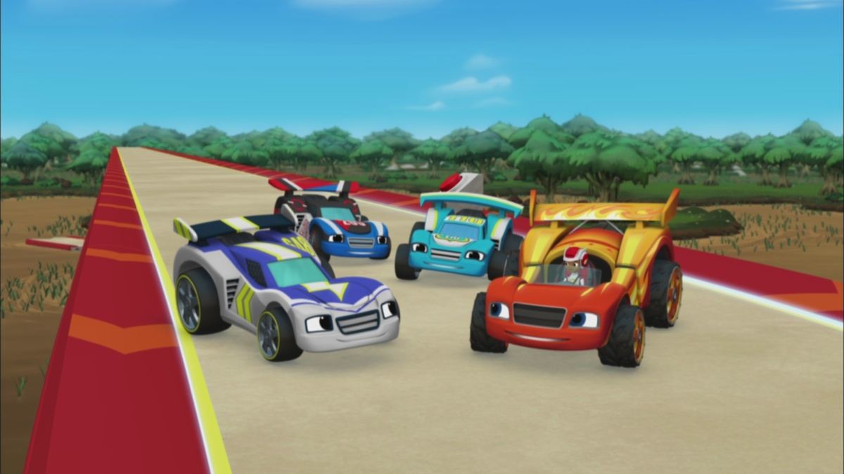 Blaze And The Monster Machines Race Car Adventures