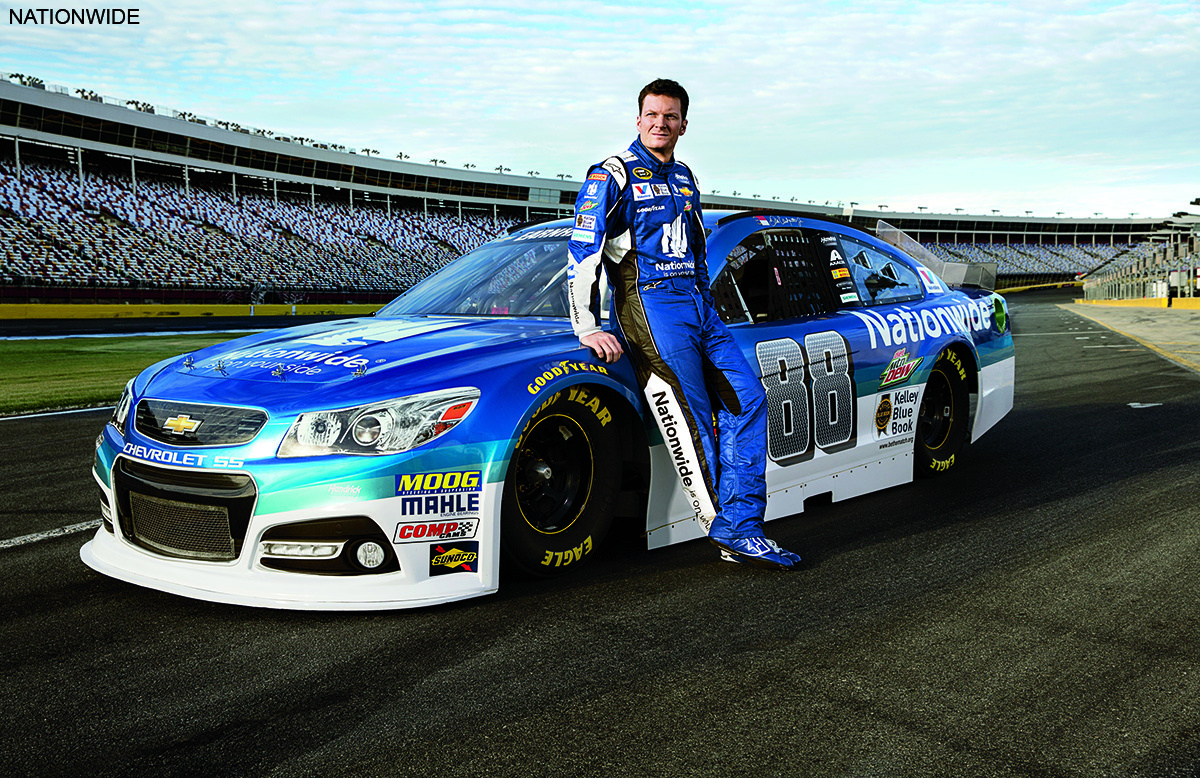 nationwide releases new television ad featuring dale earnhardt jr