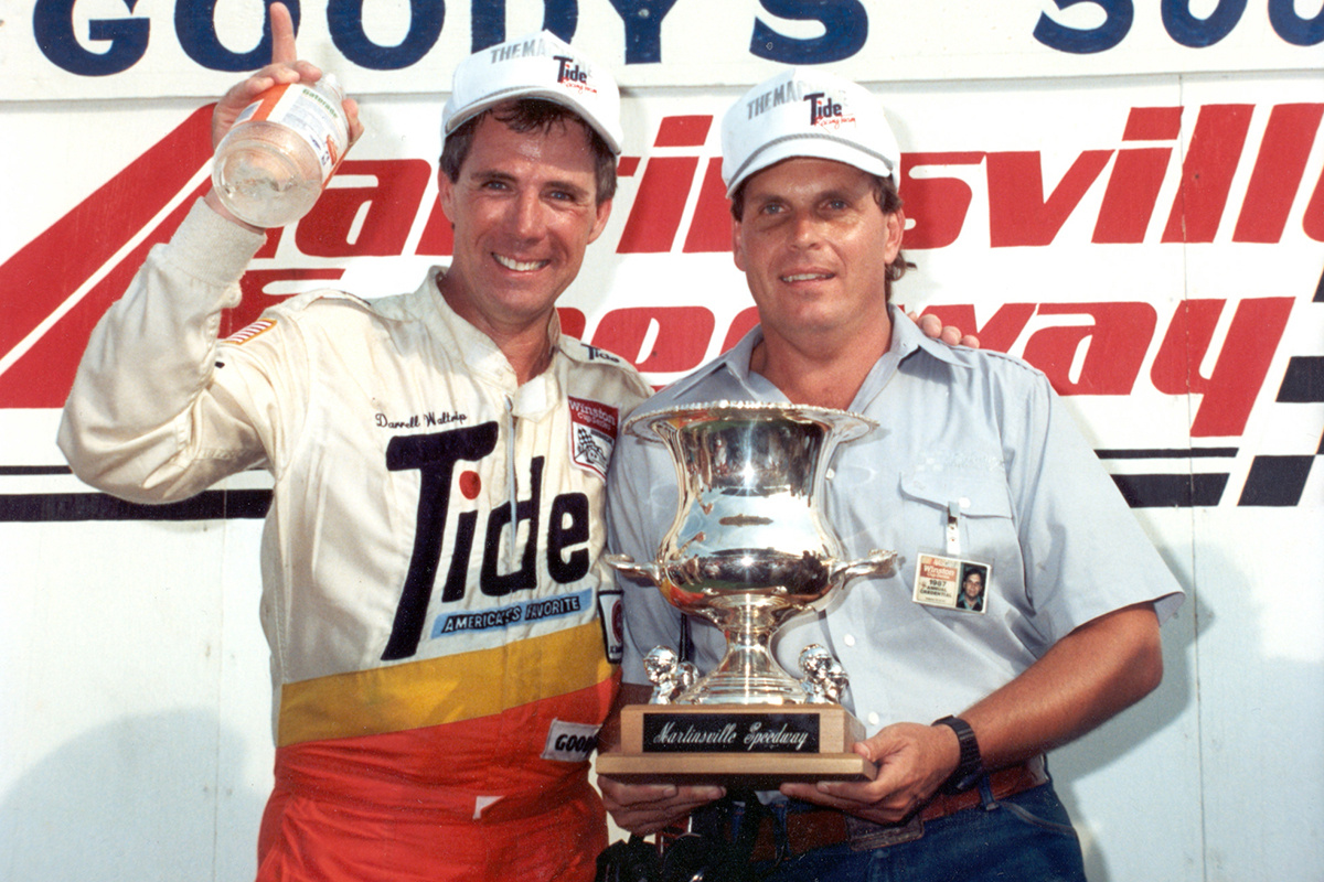 Darrell Waltrip: 'I've never had a greater friend' than
