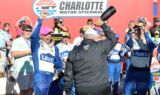 Inside Johnson's Bank of America 500 celebration