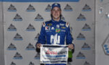 Bowman celebrates first career Cup pole
