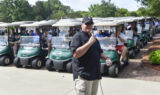 Teammates support Learn Live Hope Golf Classic