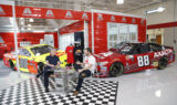 Earnhardt unveils Homestead Chevy on live QVC show