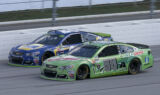 Shots of the Race: Earnhardt at Talladega