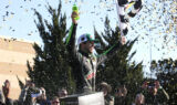 Inside Elliott's Kansas Victory Lane celebration