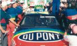 No. 24 rainbow paint scheme through the years