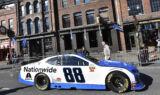 Fans line the streets for Nashville burnouts