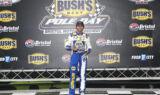Elliott celebrates pole at Bristol