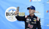 Byron celebrates second pole of season