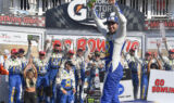 No. 9 team celebrates Watkins Glen win in style