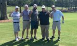 Teammates support the 2019 Learn Live Hope Golf Classic