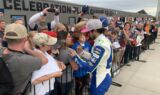 Inside Elliott's pole celebration at Talladega