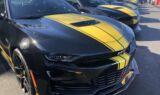 Byron takes custom Hertz-Hendrick Motorsports Camaros for a ride