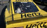 Up close with Byron's 2020 Hertz paint scheme