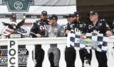Bowman's win celebration at Pocono in photos
