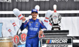 Check out Larson's momentous Watkins Glen celebration!