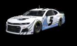 Look: No. 5 Kyle Larson Foundation Chevrolet unveiled