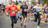Behind the scenes with Johnson at the Boston Marathon