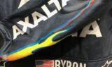 Flames adorn Byron's new Axalta firesuit