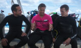 Under the Sea: Kahne goes shark diving in the Bahamas