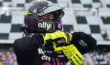 Inside Victory Lane with Johnson following Clash win