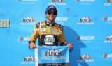 Elliott celebrates pole win at Dover