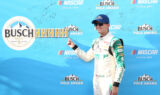 Byron celebrates fifth pole of season