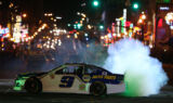 Fans line the streets for Nashville burnouts