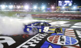 Go inside Elliott's celebration after commanding Charlotte win